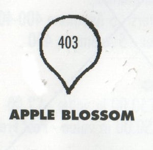 Apple Blossom 403 (15mm).  TinkerTech Two Cutters