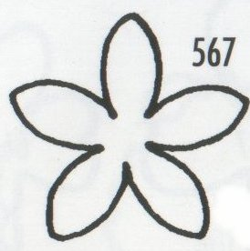 Stephanotis 567 (20mm)  TinkerTech Two Cutters