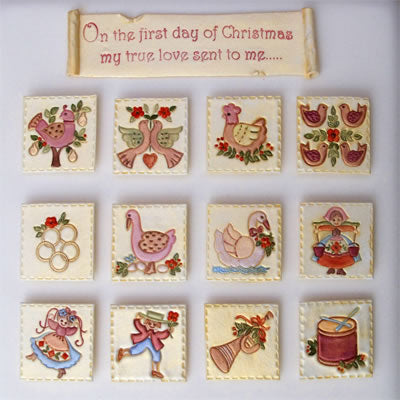 Patchwork Cutters - 12 Days of Christmas