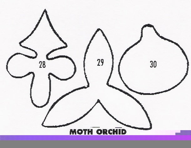 Orchid - Moth 28/29/30 (40mm).  TinkerTech Two Cutters