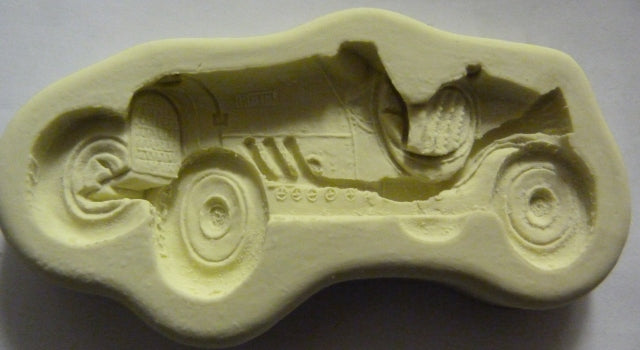 Diamond Paste Moulds - Vintage Racing Car