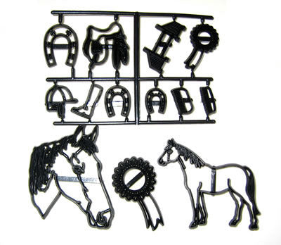 Patchwork Cutters - Horse set