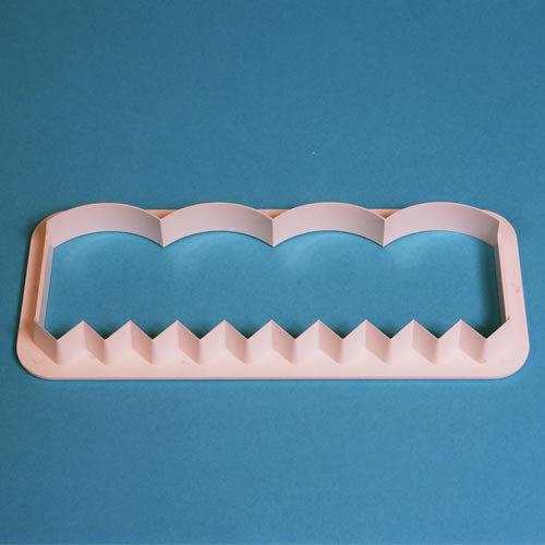 PME Cutters - Broderie Anglaise Collection.  Straight Frill Cutter
