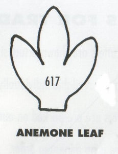 Anemone Leaf 617 (30mm) - TinkerTech Two Cutters