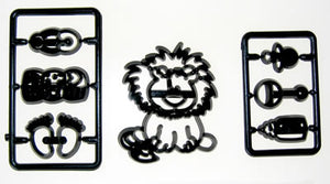 Patchwork Cutters - Baby Lion and Nursery Items