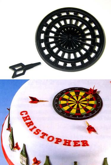 Patchwork Cutters - Dartboard and Dart