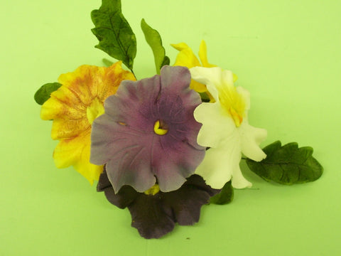Jem Cutters Pansy/Violet set of 8.