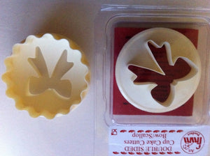 FMM Cutters - Cupcake Cutters Bow and Scallop
