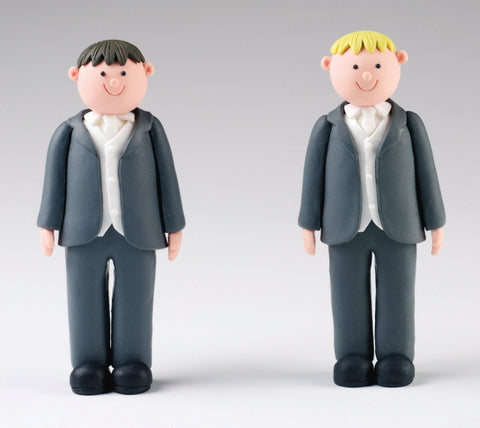 Wedding Topper Claydough  - Groom - 125mm