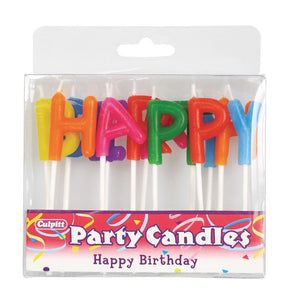Candles - Happy Birthday Letters