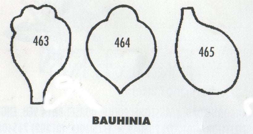 Bauhinia 463/464/465 (25mm).  TinkerTech Two Cutters