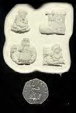 Diamond Paste Moulds - Nursery Rhymes