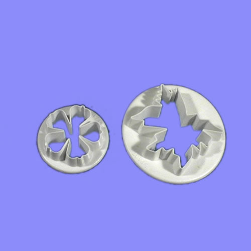 Meadow Cranesbill set of 2.  PME Cutters
