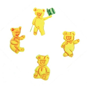 FMM Embossers - Bears set of 4