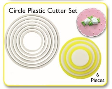 PME Cutters - Round/Circle (set of 6)