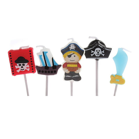 Candles - Pirate set of 5
