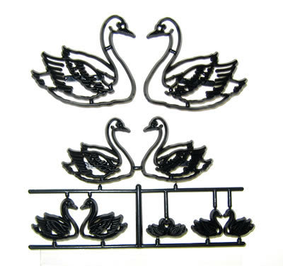 Patchwork Cutters - Swan set.