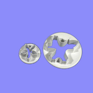 White Bryony set of 2.  PME Cutters
