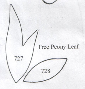 Tree Peony Leaf 727/728 (52mm, 32mm) - TinkerTech Two Cutters