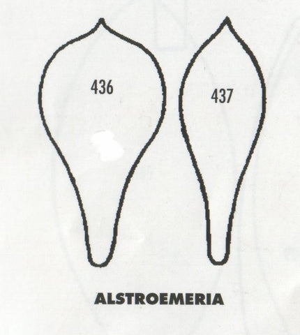 Alstroemeria 436/437 (45mm).  TinkerTech Two Cutters