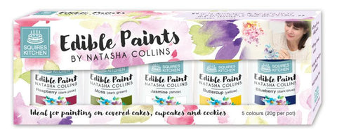 Paint - Squires Kitchen Edible Paint by Natasha Collins Set 1