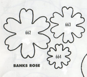 Rose - Banks - set of 3 662/663/664 (37mm, 27mm, 20mm)  TinkerTech Two Cutters