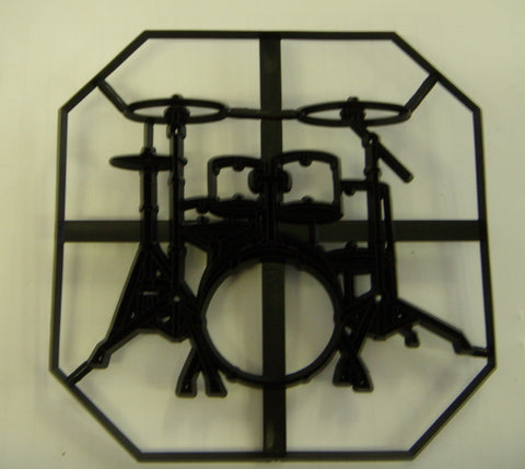 Patchwork Cutters - Drumkit Plaque