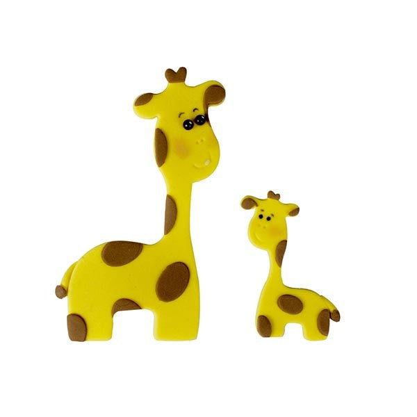 FMM Cutters - Mummy & Baby Giraffe - Set of 2