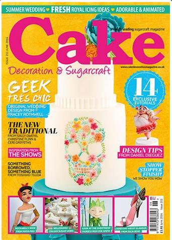 Cake Decoration and Sugarcraft - June 2016 Issue 211