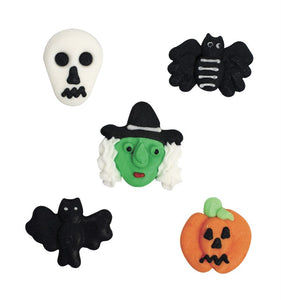 Halloween Sugar Pipings - pack of 10
