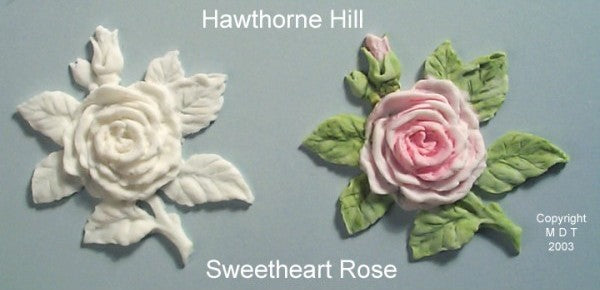Hawthorne Hill Moulds - Sweetheart Rose