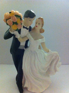 Wedding Topper - Bride and Groom - WP175  SALE