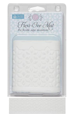 Squires Kitchen Flexi-Ice Lace Mat - Geometric Floral