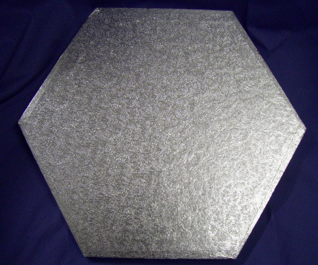 Drum Cake Board - Hexagonal