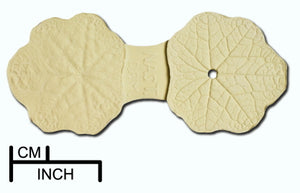 Diamond Paste Leaf Veiners - Nasturtium Leaf