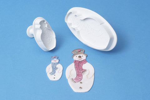 PME Cutters - Snowman. Set of 2.