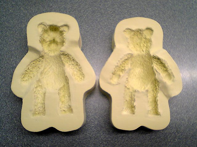 "Diamond Paste Moulds - 3D Teddy medium 3½"" (TO ORDER ONLY. PLEASE ALLOW 1 WEEK)"