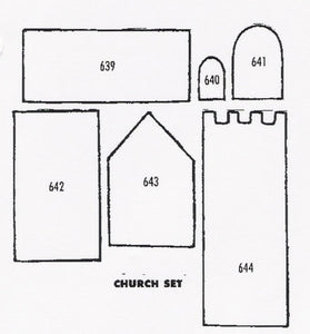 Church 639 to 644 (60mm x 47mm) TinkerTech Two Cutters