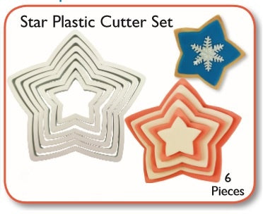 PME Cutters - Star (set of 6)