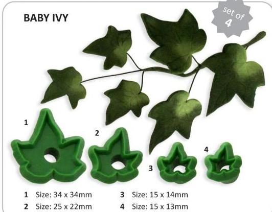 Ivy (Baby/African) set of 4 (L9) - Jem Cutters