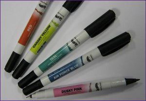 Colour Pen - Double Sided Food Pen - Rainbow Dust