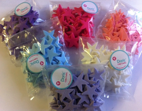 Edible Stars - pack of 50