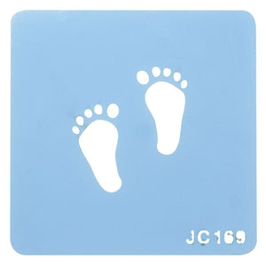 Jem Stencils - Footprints 90 x 45mm