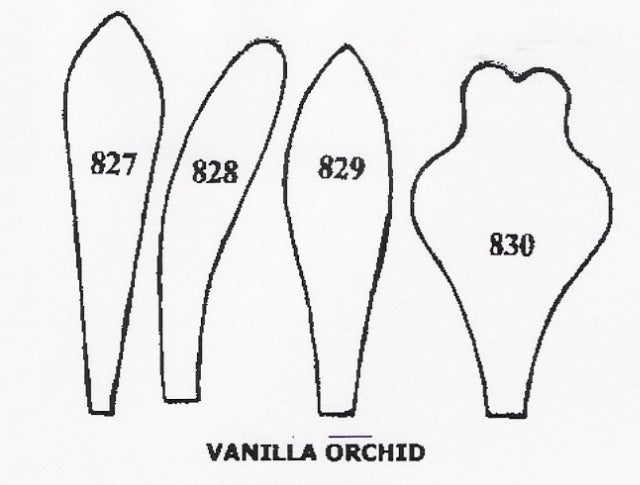 Orchid - Vanilla 827/828/829/830 (42mm).  TinkerTech Two Cutters