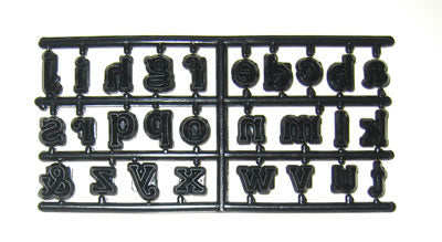 Patchwork Cutters - Alphabet  Lowercase