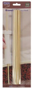 "Dowel - 12"" Bamboo (Pack of 12)"