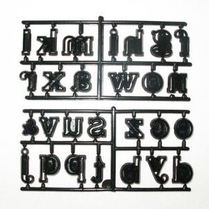 Patchwork Cutters - Alphabet Large Lower Case