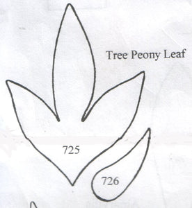 Tree Peony Leaf 725/726 (62mm, 30mm) - TinkerTech Two Cutters