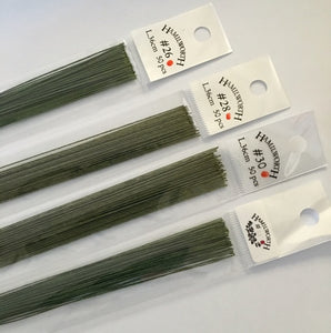 Wire - Hamilworth Red spot (Japanese Grade) - Green