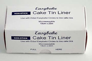 Cake Tin Liner. Non-stick on a roll Easybake